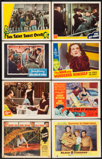 """Cape Fear & Others Lot (Universal International, 1962). Lobby Cards (59) (11"""" X 14""""). Thriller. ... (T..."""