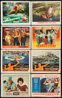 """Legend of the Lost & Others Lot (United Artists, 1957). Lobby Cards (38) (11"""" X 14""""). Adventure. ... (..."""