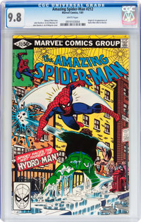The Amazing Spider-Man #212 (Marvel, 1981) CGC NM/MT 9.8 White pages