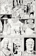Original Comic Art:Panel Pages, Dave Gibbons Watchmen #12 Page 9 Art and Color GuideOriginal Art Group (DC, 1987).... (Total: 2 Original Art)