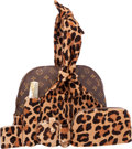 Luxury Accessories:Bags, Louis Vuitton Limited Edition Centenaire Monogramme by Azzedine Alaia Leopard Pony Hair Alma Bag & Set. Excellent Conditio...