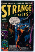 Golden Age (1938-1955):Horror, Strange Tales #6 (Atlas, 1952) Condition: GD/VG....