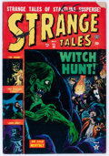 Golden Age (1938-1955):Horror, Strange Tales #18 (Atlas, 1953) Condition: GD/VG....