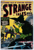 Golden Age (1938-1955):Horror, Strange Tales #29 (Atlas, 1954) Condition: GD/VG....