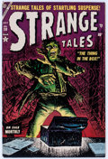Golden Age (1938-1955):Horror, Strange Tales #30 (Atlas, 1954) Condition: FN....