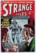 Golden Age (1938-1955):Horror, Strange Tales #33 (Atlas, 1954) Condition: VG....