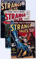 Silver Age (1956-1969):Science Fiction, Strange Tales Group (Atlas, 1956-58) Condition: Average GD+....(Total: 10 Comic Books)