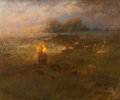 Fine Art - Painting, American:Modern  (1900 1949)  , GEORGE INNESS JR. (American, 1854-1926). Golden Afternoon,circa 1919. Oil on canvas. 21-1/2 x 25-1/2 inches (54.6 x 64....