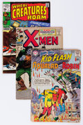 Silver Age (1956-1969):Miscellaneous, DC and Others Silver-Modern Age Comics Box Lot (Various Publishers,1960s-'80s) Condition: Average VF....
