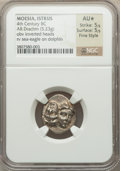 Ancients:Greek, Ancients: MOESIA. Itrus. 4th Century BC. AR drachm (5.23 gm)....