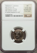 Ancients:Greek, Ancients: THESSALY. Larissa. Ca. 356-342 BC. AR drachm (5.57gm)....