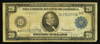 Fr. 978 $20 1914 Federal Reserve Note About Fine