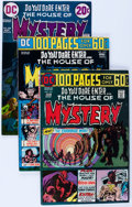 Bronze Age (1970-1979):Horror, House of Mystery Group (DC, 1970-76) Condition: Average VF....(Total: 21 Comic Books)