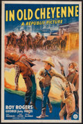 "Movie Posters:Western, In Old Cheyenne (Republic, 1941). One Sheet (27"" X 41""). Western.. ..."