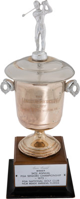 1973 PGA Seniors Championship Trophy From The Sam Snead Collection
