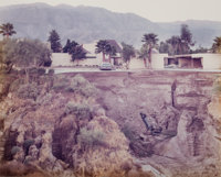 JOEL STERNFELD (American, b. 1944) After a Flash Flood, Rancho Mirage, California, July 1979 Chromog