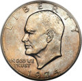 Eisenhower Dollars, 1974 $1 MS66+ PCGS. CAC....