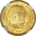 Commemorative Gold, 1922 G$1 Grant With Star MS67+ NGC....