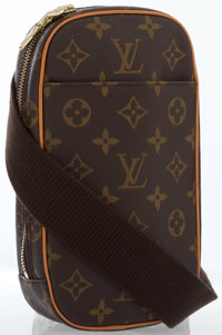 Louis Vuitton Classic Monogram Canvas Gange Crossbody Bag