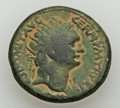 Ancients:Judaea, Ancients: JUDAEA. Caesarea Maritima. Domitian (AD 81-96). Æ 26mm(14.62 gm). ...