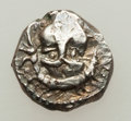 Ancients:Judaea, Ancients: JUDAEA. Samaria. Ca. 375-333 BC. AR obol (0.82 gm)....