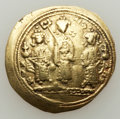 Ancients:Byzantine, Ancients: Romanus IV Diogenes (1068-1071), with Eudocia, MichaelVII, Constantius, and Andronicus. AV histamenon nomisma (3.30gm). ...