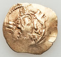 Ancients:Byzantine, Ancients: Andronicus II Palaeologus (1282-1328), with Michael IX.AV hyperpyron (3.47 gm)....