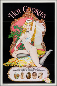 """Hot Cookies (Bloomer, 1977). One Sheets (10) (27"""" X 41"""") Flat Folded. Adult. ... (Total: 10 Items)"""