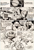 Original Comic Art:Panel Pages, Jim Starlin and Mike Esposito Iron Man #55 Page 18 OriginalArt (Marvel, 1973)....