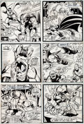 Original Comic Art:Panel Pages, Jim Starlin and Mike Esposito Iron Man #55 Page 26 OriginalArt (Marvel, 1973)....