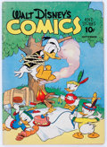 Golden Age (1938-1955):Cartoon Character, Walt Disney's Comics and Stories #24 (Dell, 1942) Condition: VG....