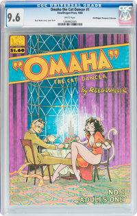 Omaha the Cat Dancer #1 Don/Maggie Thompson Collection pedigree (SteelDragon Press, 1984) CGC NM+ 9.6 White pages