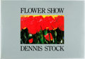 Books:Photography, Dennis Stock. Flower Show. New York: Rizzoli, [1986]. First edition. Oblong folio. Publisher's cloth and original du...
