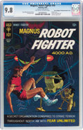 Silver Age (1956-1969):Science Fiction, Magnus Robot Fighter #19 Double Cover - Don/Maggie Thompson Collection pedigree (Gold Key, 1967) CGC NM/MT 9.8 Off-white to wh...