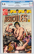 Silver Age (1956-1969):Superhero, Hercules #1 Don/Maggie Thompson Collection pedigree (Charlton, 1967) CGC NM 9.4 White pages....