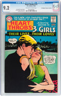Silver Age (1956-1969):Romance, Heart Throbs #112 Don/Maggie Thompson Collection pedigree (DC, 1968) CGC NM- 9.2 Off-white to white pages....