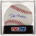 Autographs:Baseballs, Stan Musial Single Signed Baseball, PSA Mint +9.5....
