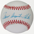 Autographs:Baseballs, James Augustus Hunter Single Signed Baseball. ...