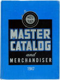 Miscellaneous:Catalogs, [Photography]. Photo Trade Master Catalog and Merchandiser for 1947. New York: Guildhall Publishing, 1947. L...