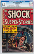 Golden Age (1938-1955):Horror, Shock SuspenStories #4 (EC, 1952) CGC FN 6.0 Off-white pages....