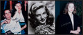 Autographs:Others, Lauren Bacall Signed Photographs Lot Of 3. ...