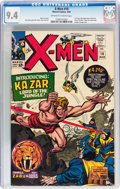Silver Age (1956-1969):Superhero, X-Men #10 (Marvel, 1965) CGC NM 9.4 Off-white to white pages....