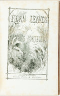 Books:Literature Pre-1900, [Sara Payton Willis, writing as Fanny Fern]. Fern Leaves fromFanny's Port-Folio. Second Series. Auburn: Miller, Ort...
