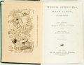 Books:Literature Pre-1900, F. M. Whitcher. Widow Spriggins, Mary Elmer, and Other Sketches. New York: Geo. W. Carleton, 1867. First edition. Tw...