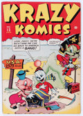 Golden Age (1938-1955):Funny Animal, Krazy Komics #13 (Timely, 1944) Condition: FN/VF....