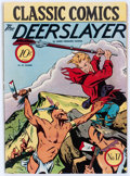 Golden Age (1938-1955):Classics Illustrated, Classic Comics #17 The Deerslayer - First Edition (Gilberton, 1944) Condition: FN....