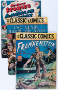 Golden Age (1938-1955):Classics Illustrated, Classic Comics Group (Gilberton, 1945).... (Total: 4 Comic Books)