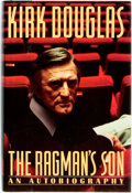 Books:Biography & Memoir, Kirk Douglas. INSCRIBED. The Ragman's Son. Simon andSchuster, [1988]. First edition, first printing. Signed and i...