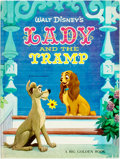 Books:Children's Books, [Walt Disney, Big Golden Book]. Lady and the Tramp. WesternPublishing, 1971. Later printing. Large quarto. [26] pag...