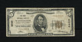 """National Bank Notes:District of Columbia, Washington, DC - $5 1929 Ty. 1 The Riggs NB Ch. # 5046. Riggs was known as the """"Bank of the Presidents."""" Abraham Lincoln..."""